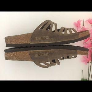 Birkenstock Shoes - Authentic Birkenstock's Brown Leather Sandals 10
